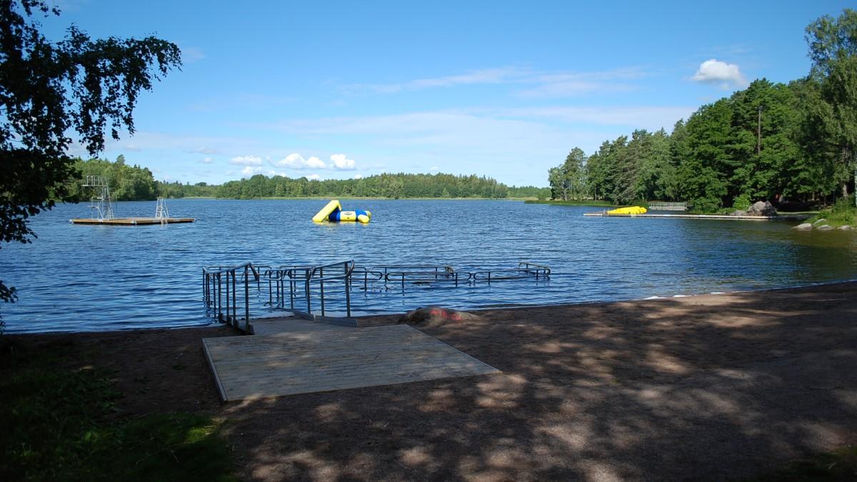 Fjällnora friluftsområde Uppsala kommun